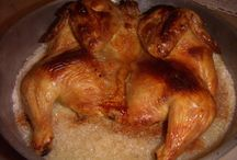 RECIPES OF MEAT AND POULTRY / RECEITAS DE CARNES E AVES / by Belzinha Gomes
