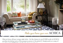 #Myhomestyle ACHICA Living competition / Have you entered our fab Make Your Home Your Own competition. Want to see your home here? Then hurry! Simply post a photo of your favourite ACHICA buy looking stylish in your home, and tag it #myhomestyle and include @achicaliving in the description. You could win £1000 to spend at ACHICA.com! You can enter via email, Facebook, Twitter and Instagram too. All details here: http://www.achica.com/achicaliving/myhomestyle/ / by ACHICA