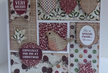 6x6 Paper Pads / Cards and projects created with 6x6 Paper Pads, die cuts and templates from 4 Day Deal on Create and Craft TV.  Mistletoe, BonBon, country Charm and Suits You Sir!  / by Craftwork Cards