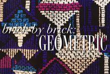 Brick by Brick: Geometric / Fall is all about geometric prints! / by YUMI KIM