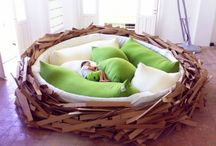 The Best Nests / Mattresses, cribs, comforters, pillows, blankets - it's not just a bed, it's where you'll spend a third of your life. Make your nests the best. / by Cloud b