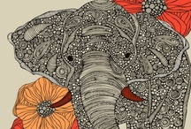 Elephants  <3 / by Rene Roderigues