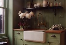 2013 sage kitchen / by MaryAnn Urbanik