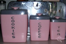 Vintage canisters / by Anita Diaz