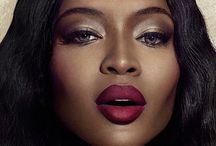 Naomi Campbell Makeup / Queen B, Naomi Campbell.  / by Isaac Meyers