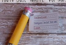 Valentine Day ideas / by Angie Barnette