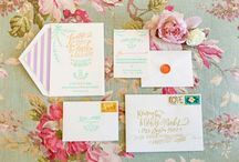 Wedding-Invitations / by Lizzy Rinner