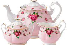 China~Tea Pots and Roses / by Teresa Noah-Brown