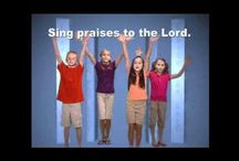 Children's Worship Music with Text / by Laura Ownby