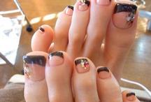 Nail designs/ mani, pedi / by Patti Streets-Baisden