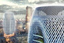 A-high rise / by BÖHM Architekten