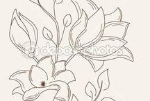 Drawn flowers / by Ruth Ward