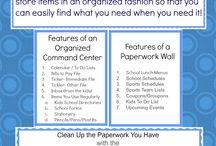 Let's Get Organized / by Dana Sanders ~ Mommy eTime