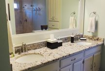 quick bathroom update / by Audrey Whitlock