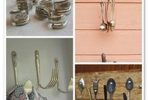 silverware crafting / by Renee Newburn