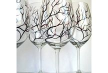 Designs for Wine Glasses / by Suzanne McCord