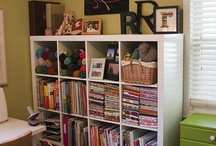Sewing/Crafting Room / by Olivia Walker