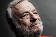 Stephen Sondheim / American lyricist and composer Stephen Sondheim gained much of his knowledge of musical theater from working with master lyricist Oscar Hammerstein II. Sondheim's contributions to West Side Story and Gypsy in the 1950s brought him recognition as a rising star of Broadway. His major works for the theater include A Funny Thing Happened on the Way to the Forum, Sweeney Todd, Sunday in the Park With George and Into the Woods. / by Sheila Parham