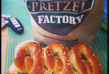Pretzels for Everyone! / Amazingly delicious looking pictures of pretzels. Yumm.  / by Philly Pretzel Factory