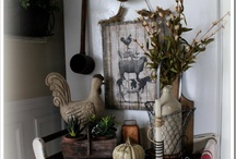 Country Farmhouse Vignettes & Groupings / by Sheepscot River Primitives