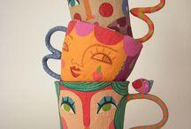 Crafts: Paper Mache / Artsy / by Sandrina Ingianna Gould