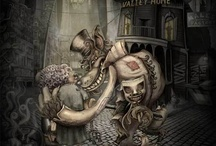 Ilustrations 1 / Some of my favorite . enjoy ~~ / by Wesley Matulevic