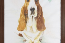 Going to the Dogs  / To celebrate its 50th Anniversary, Hush Puppies called on friends and customers around the world to create art to represent the brand's iconic dog, the Basset Hound.  We received some amazing pieces! / by Hush Puppies