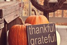 giving thanks / thanksgiving decor / by shelby dougan