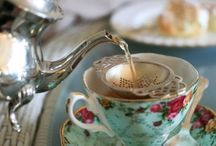 Tea Time / And She Feeds You Tea and Oranges That Come All the Way From China ... / by Linda Payne