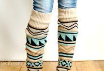 Leg warmers / Cozyyyyyy!! / by Natalia Escamilla