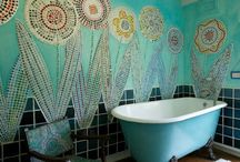 Bathroom Mosaics / by Ciel Gallery