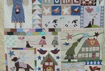 Applique quilt / by Enhee Huh