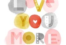 Lovey Dovey / Valentine's Day, Hearts, Love / by Tara Bennett