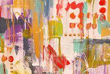 DIY abstract / by Kat Philgreen