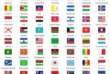 Flags of the World / by Stephanie Pascal