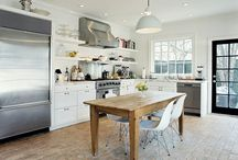 Home - Kitchen/Dining / The hearth of the home! / by Souris | Tiny Iron Fists