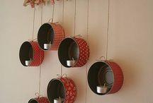 Velas /  Velas, velones, luminarias, faroles, linternas, decoración con velas, candelabros e ideas con velas / by Pilila Estrada