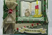 Christmas Cards / Handmade Christmas Cards by Me / by Kate Wiles