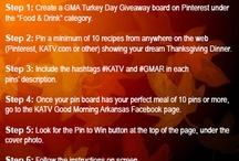 Example Board GMA Turkey Day Giveaway / by KATV Good Morning Arkansas