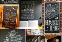 Chalkboard artsy fartsy / by Jill Lycoops