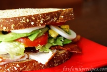 Sandwiches/Wraps / by FavFamilyRecipes