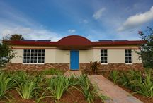 Mesocore Single family Home / This Mesocore Homes is located in Lake Park, FL and has been utility bill free since completion.  Thanks to our rain collection system and our renewable solar energy. Hello off-grid. / by Mesocore