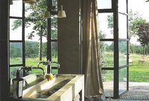 Bathrooms-Masters + guests / beautiful spaces to bathe and prepare for the day / by Julie Williams