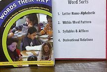 School - Literacy - Words Their Way / by Shelley Kellington