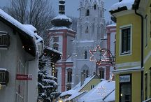 Austria Favorite Locales / All provinces, but excludes Wien / by Donald Kale