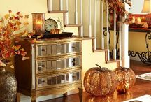 Fall decorating / by Terri Campbell