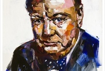 Winston Churchill / by Emily BluBabescreate
