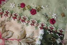 Crazy quilt stitchery / by Ann Latimer