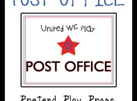 Post Office Ideas / by Sheryl @ Teaching 2 and 3 Year Olds