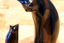 Ceramic Cats / Ceramic cats / by Carola Paredes